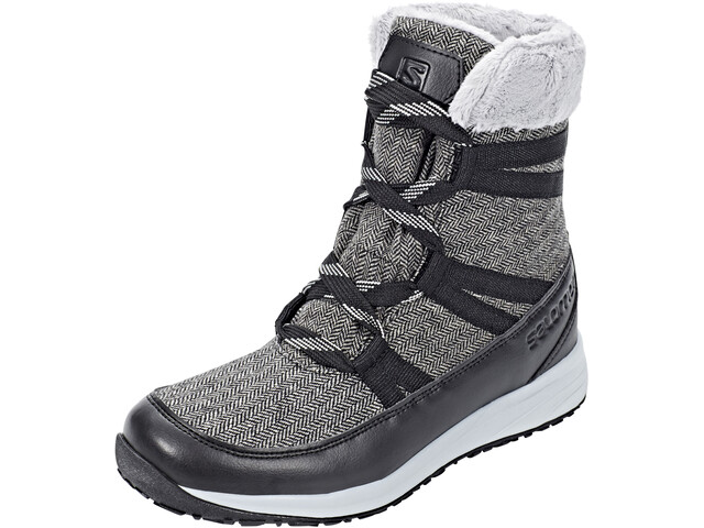Salomon Heika CS WP Talvisaappaat Naiset, black/quarry/alloy